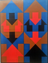 Frederick Brandt, Interlacing Arrows (Chrysler Museum of Art De-Accession/Label), 1968