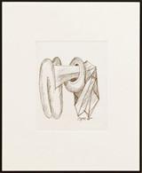 Seymour Lipton, Untitled Drawing, 1975