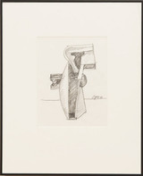 Seymour Lipton, Untitled Drawing, 1981