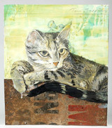 """Tom Judd, Casey (created exclusively for the """"Patrick Eddington Cat Project"""", and gifted to Eddington), 2009"""