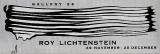Roy Lichtenstein, Gallery 26 Exhibition Poster, 1950