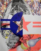 James Rosenquist, Castelli Gallery Poster (Signed), 1965