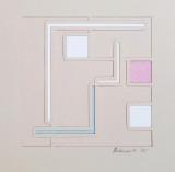 Richard Gubernick, Untitled Geometric Abstraction, 1975