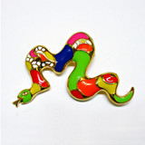 Niki de Saint Phalle, Brooch (Serpent)