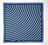 Sol LeWitt, Limited Edition Vintage Signed Louis Vuitton Silk Scarf (Plate Signed), ca. 1987