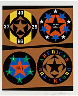 ROBERT INDIANA, Tilt, from the American Dream Portfolio, Color screenprint (Signed, Dated & Numbered)