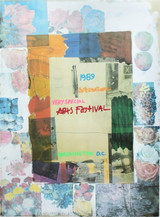 ROBERT RAUSCHENBERG, International Very Special Arts Festival 1989, Lithograph on wove paper, Signed & Numbered (Framed)