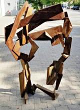 JOEL PERLMAN Welded steel Constructivist sculpture