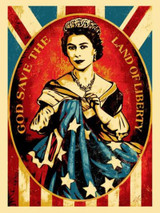 Shepard Fairey, God Save the Queen, 2012