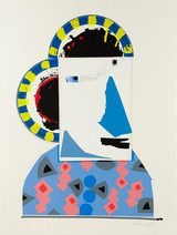 IVAN CHERMAYEFF, Geisha in Amsterdam 1982, Serigraph printed in twenty three colors on Arches paper. Signed. Numbered.