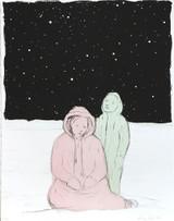 Enrique Martinez Celaya, The Optimists (14-305) 2014, Four-color lithograph. Signed. Numbered. Blindstamped. Unframed