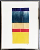 LYMAN KIPP Untitled painting on paper 1970,