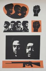 Elizabeth Catlett, Homage to the Black Panthers, 1993