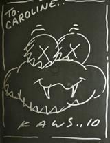 KAWS, Original Cloud Drawing