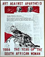 Nancy Spero, Art Against Apartheid 1984