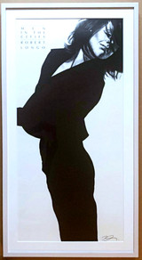 Robert Longo (Wo)Men In the Cities (Gretchen) 1991, Limited Edition Offset Lithograph. Hand Signed. Framed/