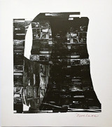 Louise Nevelson Night Reflections 1968, Silkscreen. Hand Signed. Numbered.