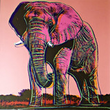 Andy Warhol African Elephant