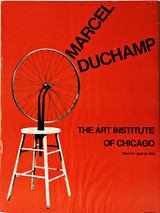 Marcel Duchamp, The Art Institute of Chicago, 1974