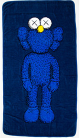 KAWS, 67 inch BFF 100% Cotton Wall Hanging/Beach Towel, 2016