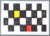 Mary Heilmann, African , 2000 Color lithograph. Pencil signed and numbered. Unframed.
