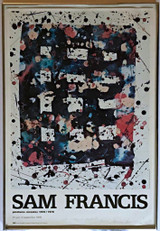 Peintures Recentes 1976-1978 (Hand Signed and Inscribed by Sam Francis), 1978