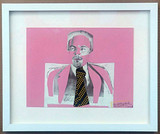 Larry Rivers, Homage to Vladimir Ilyich Lenin, signed and inscribed to Arthur Gold and Robert (Bobby) Fizdale, 1973