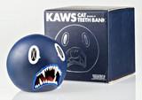 KAWS, Cat Teeth Bank (Navy Blue) in original box, 2007