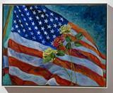 Thelma Appel, In Memoriam, 2002, Original painting