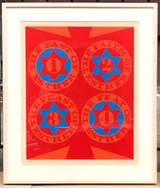 Robert Indiana, The Four Facets of Esther (II) [Sheehan, 36], 1967