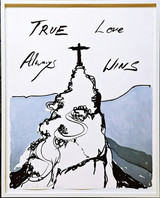 Tracey Emin,  True Love Always Wins, 2016