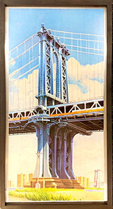 Richard Haas, Manhattan Bridge, 1999