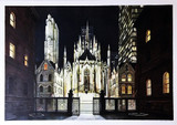 Richard Haas, Villard Courtyard, St. Patrick's Cathedral (New York City)