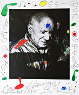 Hommage à Picasso (Homage to Picasso), 1975
