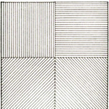 Sol Lewitt, Lines in Four Directions, 1976