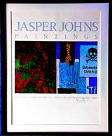 Jasper Johns Paintings at Leo Castelli (Hand Signed by Jasper Johns),  from the Estate of Aviva and Jacob Bal Teshuva, 1984