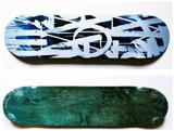 RETNA, Original Limited Edition Skateboard Skate deck with COA signed by RETNA , 2018