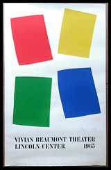 Ellsworth Kelly, Vivian Beaumont Theater, Lincoln Center, NYC (Axsom IIE), 1965