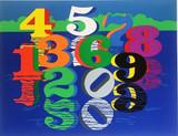 Robert Indiana, Numbers (Sheehan, 111), 1980