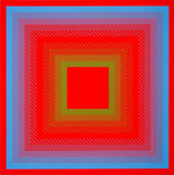 Richard Anuszkiewicz, Spectral Cadmium , 1968