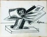 Seymour Lipton, Study for Pacific Bird Sculpture, 1965