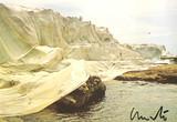 Christo, Wrapped Coast, Little Bay, Australia, 1969 (Hand Signed), 1985