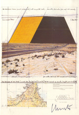 Christo, The Mastaba of Abu Dhabi, Project for the United Arab Emirates (Hand Signed), 1980