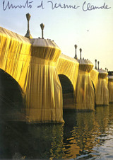 Christo and Jeanne-Claude, The Pont Neuf Wrapped, Paris, France (Hand Signed) from the collection of Jeanne-Claude's assistant, 1985