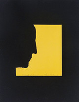 Marcel Duchamp, Self Portrait in Profile (Schwarz 344), 1967