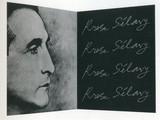 Marcel Duchamp and Shuzo Takiguchi, Rrose Sélavy in Wilson-Lincoln System , 1967 (Schwarz 344)