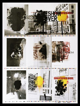 Christopher Wool, The Show is Over (Hand Signed by Christopher Wool), 2013-2017
