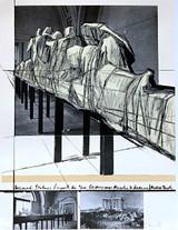 Christo, Wrapped Statues, (Project for Der Glyptotek in Munich Aegean Temple). Munich, 1988