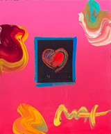 Heart Suite, Heart (signed twice, with an additional original drawing on the verso of frame), 2002