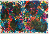 Sam Francis, The Fresh Air Lithograph (Hand Signed Carnegie Museum Director Edition of 30), 1972